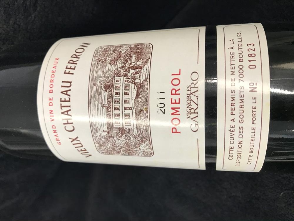 Vieux Chateau Ferron Baron Appellation Pomerol contrôlée